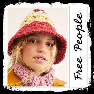 NWT Free People High Road Fairisle Hat